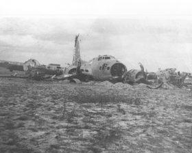Vliegtuigbrokstukken en verzetssporen
